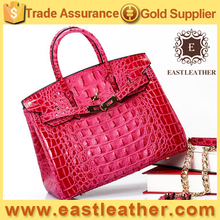 GL1002 Top selling in Summer name brands wholesale genuine leather handbags ladies