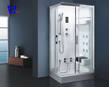 80x80 Double sliding italian simple enclosed steam shower cabin