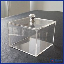 2016 factory directly customized wholesale acrylic mini candy bin / acrylic candy display case
