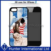 USA Flag 3D Hard Back Case For iPhone 5