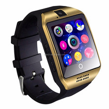 Free sample wholesale ce rohs cheap colorful Q18 smart watch mobile phone