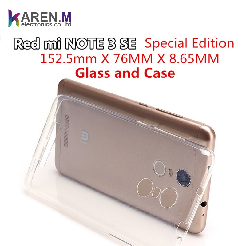 152.5mm TPU Phone Cases For Xiaomi Redmi NOTE 3 PRO SE Special Edition Official Global Version Transparent Cover