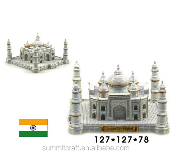 India Taj Mahal resin 3 building model 2014best souvenirs india
