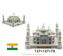 Miniature India Taj Mahal model gift resin building model