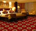 comfortable wall to wall axminster carpet for hotel