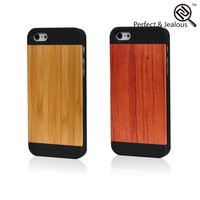 OEM packing New fashinable engrave wooden case for iphone 5 6