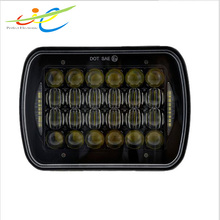 Wholesale Head lamp type 7'' 5*7 85W LED work light Car auto driving light
