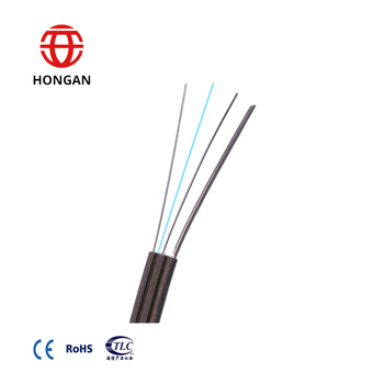 Outdoor GJXH/GJYXCH G657A1 G657A2 bow type FTTH FTTX fiber optic drop cable