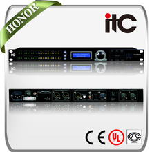 ITC TS-224 2-Channel feedback suppressor qsc power amplifier from signal processing equipment