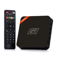 G1 set top box Amlogic S805 Quad Core best upgrade media player firmware android smart tv box 4.2
