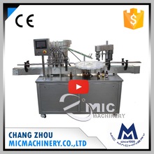 Micmachinery 2017 latest technology MIC-L45 automatic pharmaceutical filling and sealing machine for oral liquid and liquor