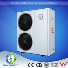 air conditioner EVI heat pump for heating and cooling 12kw Air to Water heat pump water