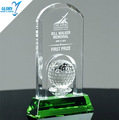 Wholesale Crystal Golf new award trophy 2017