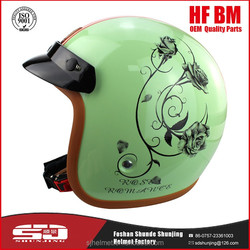 2016 Latest Design Comfortable Secure Motorcycle Helmet With Sun Visor