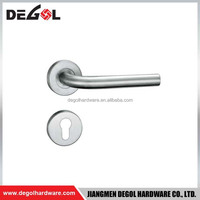 stainless steel L shape entry door pull handles