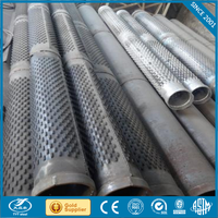 sus304 wedge filter tubes for oil well secondary stainless steel filter screen tube plastic tube settlers for water treatment