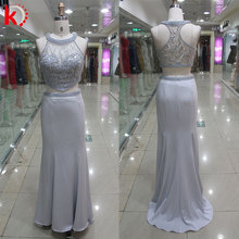 latest dress designs 2017 evening sequins beaded high neck dresses halter neck evening dress patterns