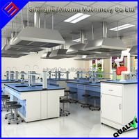 Laboratory Construction Furniture Physics Laboratory Fume Hood Portable Type