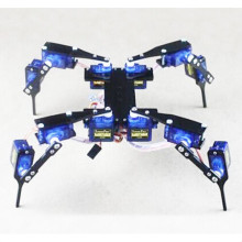 "Quadruped Four Feet Robot ""Hexapod"" Spider Arduno DIY Robot KIT 12DOF NO SERVOS"