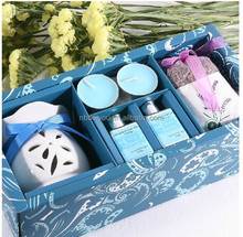aroma candle fragrance set with aromatic candles/lavender Cloth sachets for living room air freshener