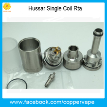 2017 Much good feedback skyline rta coppervape hussar single coil Rta clone in stock now now