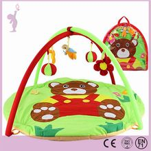 Alibaba 90cm Cartoon Baby Carpet Baby Gym Play Mat Infant Kids Educational Play Rugs Baby Activity Mat