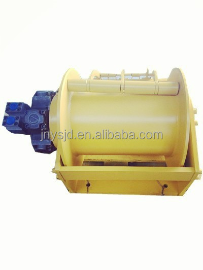 1 ton 2 ton 5 ton hydraulic drum winch for small boat