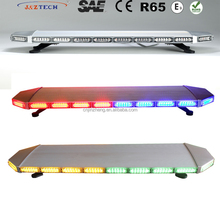 Hot-selling 88W amber/white/red/green/blue/mixed used emergency police led roof light bar for sale