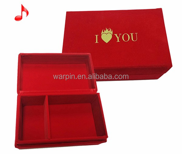 Luxurious Electronic recordable Handmade custom music box