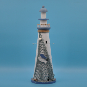 wooden decorative lighthouse models for tourist souvenir