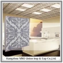 home decoration suspended roof plate wall and ceiling covering materials