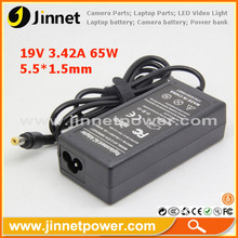 High performance 19V 65W laptop power adapter for toshiba Satellite