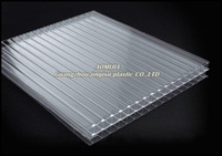 aomijia factory direct supply 8.0mm thickness plastic sun sheets for canopy