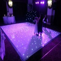 LED RGB color removable dance floor