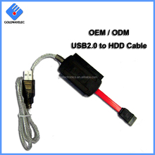 Factory wholesale High speed 22Pin Adapter sata to usb converter cable