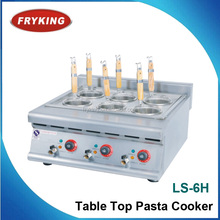 counter top commercial pasta cooker 6 pots