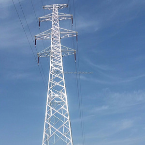 Factory Price Q235B 132kv steel power transmission line tower