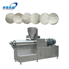 Fully automatic Panko bread crumbs making machine processing line