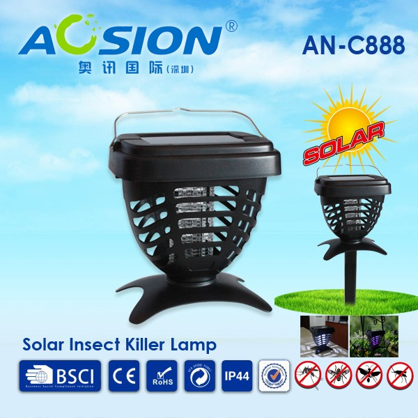 Aosion Electric Mosquito Trap UV Led Light Spiral Mosquito/ Flying Trap/ Killer Lamp