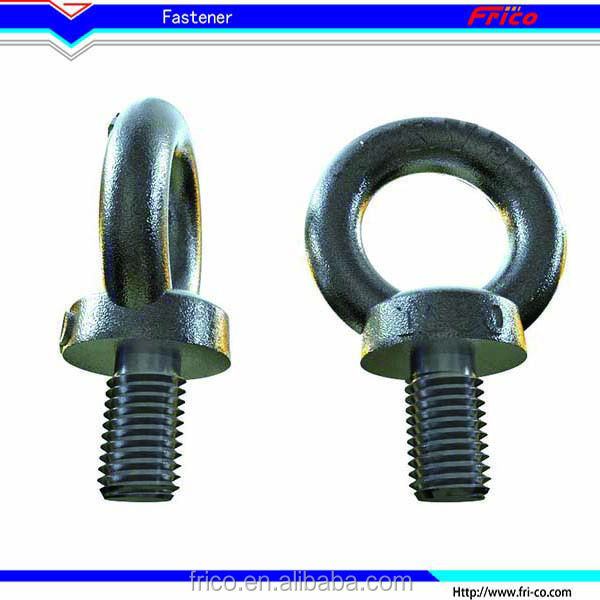 Mild steel galvanized DIN580 lifting eye bolts