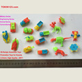 cheap small mini DIY kids toys assembled for promotion of snack