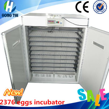 incubator machine top selling high hatching rate 2376 chicken eggs