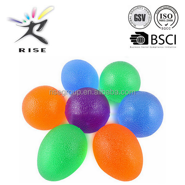 sporting soft exercise hand massager grip trainer ball