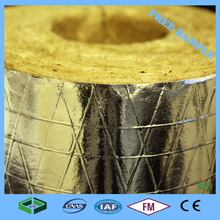 Waterproof Underground Mineral Wool Heat Resistant Pipe Insulation For Sale