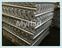 Metal Building Insulation, FSK Faing, Film with kraft,Reflective And Silver Roofing Material Aluminum Foil Faced Lamination
