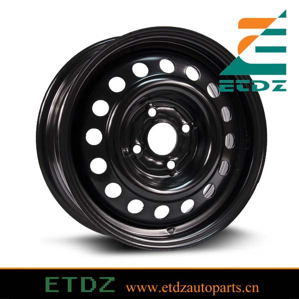15X6 4x100 Steel Trailer Wheel Car steel wheel for Honda Mazda