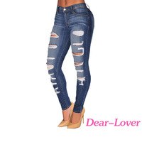 Wholesale Fashion Hot Sex New Style Women Skinny Jeans