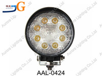Good seller Car accessories LED work light 4'' 24W 8pcs*3w Epistar led,round,brightness! AAL-0424