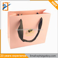 Luxury Eco-friendly gift bag promotional paper shopping bag with custom logo