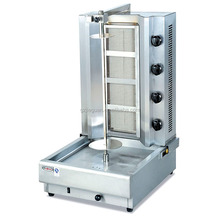 gas chicken d kebab making machines equipment